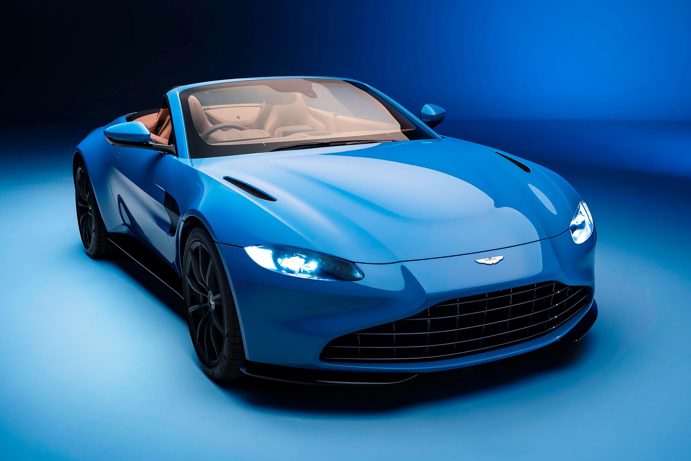 New 2020 Aston Martin Vantage Roadster Blasts In Ahead Of Geneva Auto Express