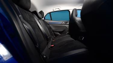 New Renault Megane 2016 hatchback GT rear seats