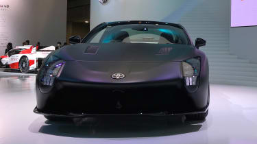 Toyota GR HV concept - Tokyo full front