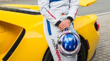 Ford GT Norway road trip - helmet