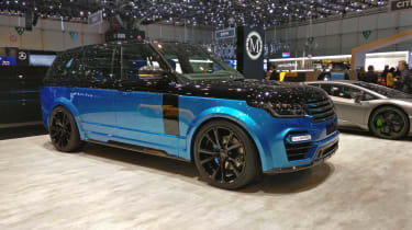 Mansory Range Rover - Geneva