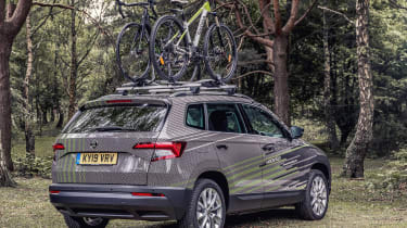 Skoda Karoq Velo - rear static