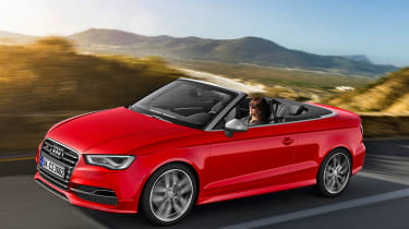 Audi S3 Cabriolet 2014 front tracking