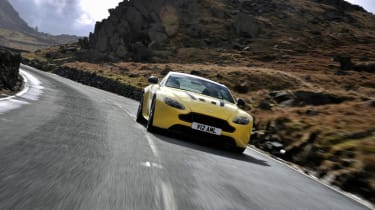 Aston Martin V12 Vantage S 2014 action