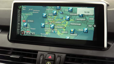 BMW 2 Series Active Tourer - sat-nav