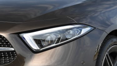Mercedes CLS 350 d - front light