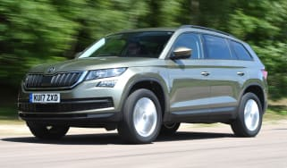 Tow car of the year 2018 - Skoda Kodiaq front