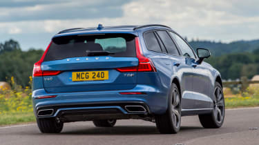 Volvo V60 T8 Twin Engine - rear action