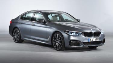 BMW 5 Series - studio front