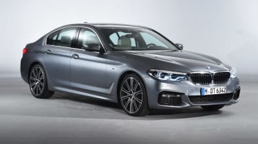 BMW 5 Series - studio front