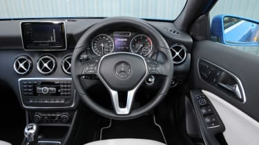 Mercedes A180 CDI Eco dashboard