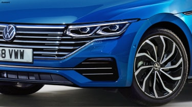 Volkswagen Passat Estate - front detail (watermarked)