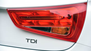 New Audi A1 2015 taillight