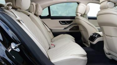 Mercedes S-Class - rear seats