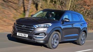 Hyundai Tucson 2016 - front tracking