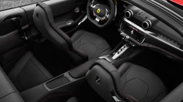 Ferrari Portofino - cockpit above