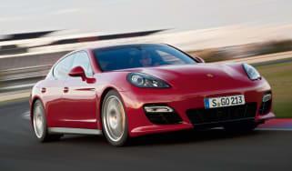 Porsche Panamera GTS  front cornering