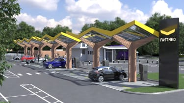 Oxford's Redbridge electric car charging hub
