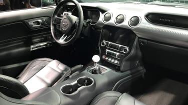 Ford Bullitt Mustang GT - Geneva dash