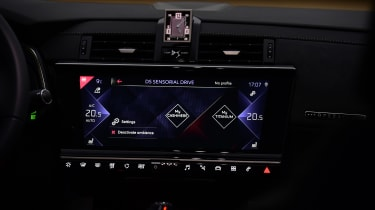 DS 7 Crossback - infotainment