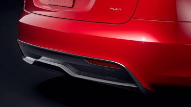 Tesla Model S facelift - rear detail