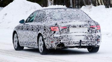 Audi A4 2015 rear lights