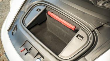 Porsche Taycan 4S Cross Turismo - front boot