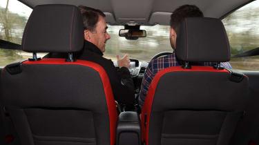 Nigel Mansell driving tips - interior teaching
