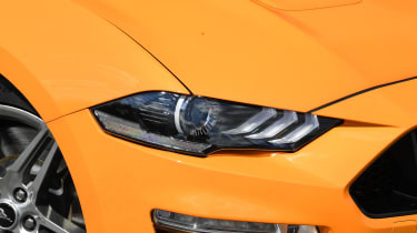Ford Mustang Convertible - headlight