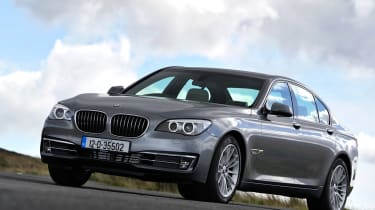 BMW 730d front three-quarters