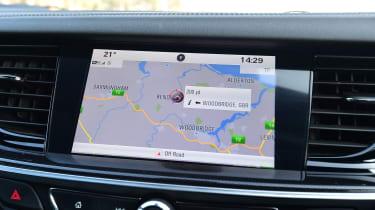 Vauxhall Insignia Grand Sport -navigation