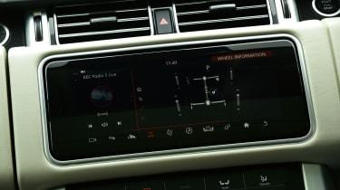 Range Rover P400 - dash