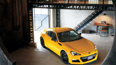 Revisions to the suspension and chassis stiffen the BRZ and reduce movement during fast cornering.