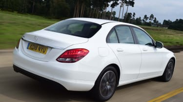 Mercedes C-Class - Rear Tracking