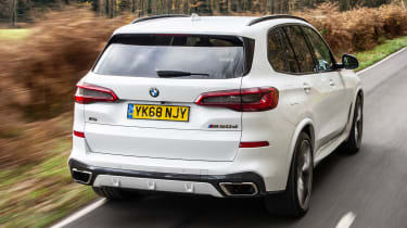 bmw x5 m50d tracking rear