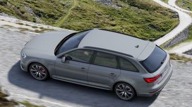 Audi S4 Avant - above