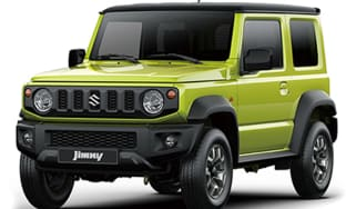 New 2019 Suzuki Jimny front quarter