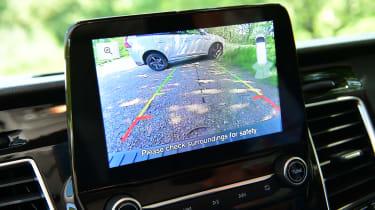 Ford Transit Custom PHEV long-termer second report - reversing camera