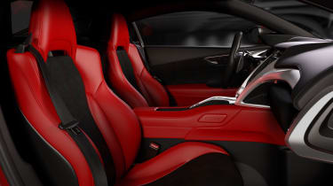 Honda NSX - cabin