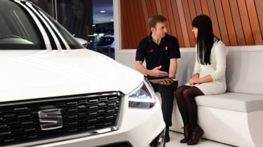 The new way of buying a car - relaxed environment
