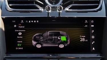Bentley Bentayga Hybrid - infotainment