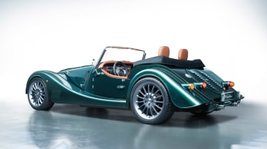 Morgan Plus Six - green rear