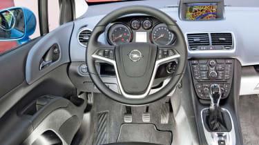 Vauxhall Meriva interior