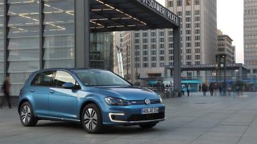 Volkswagen e-Golf 2014 static