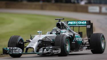 Mercedes F1 car 2016