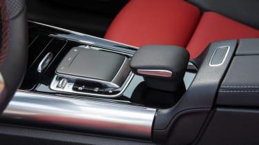 Mercedes B-Class centre console