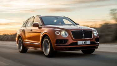 Bentley Bentayga Speed - front action