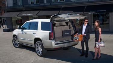Cadillac Escalade 2015 - rear boot open