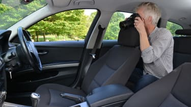 How to photograph your car for sale - photo interior