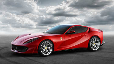 Ferrari 812 Superfast front